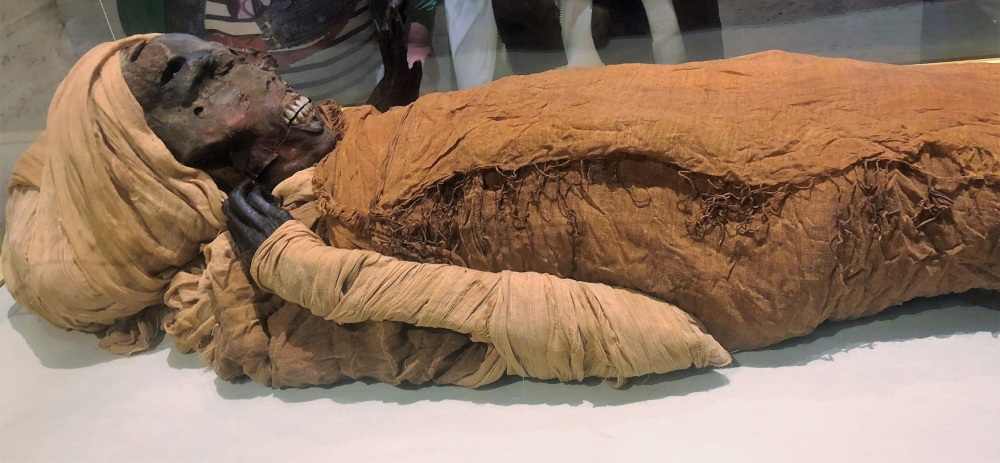 Real Mummy in Egypt Museum